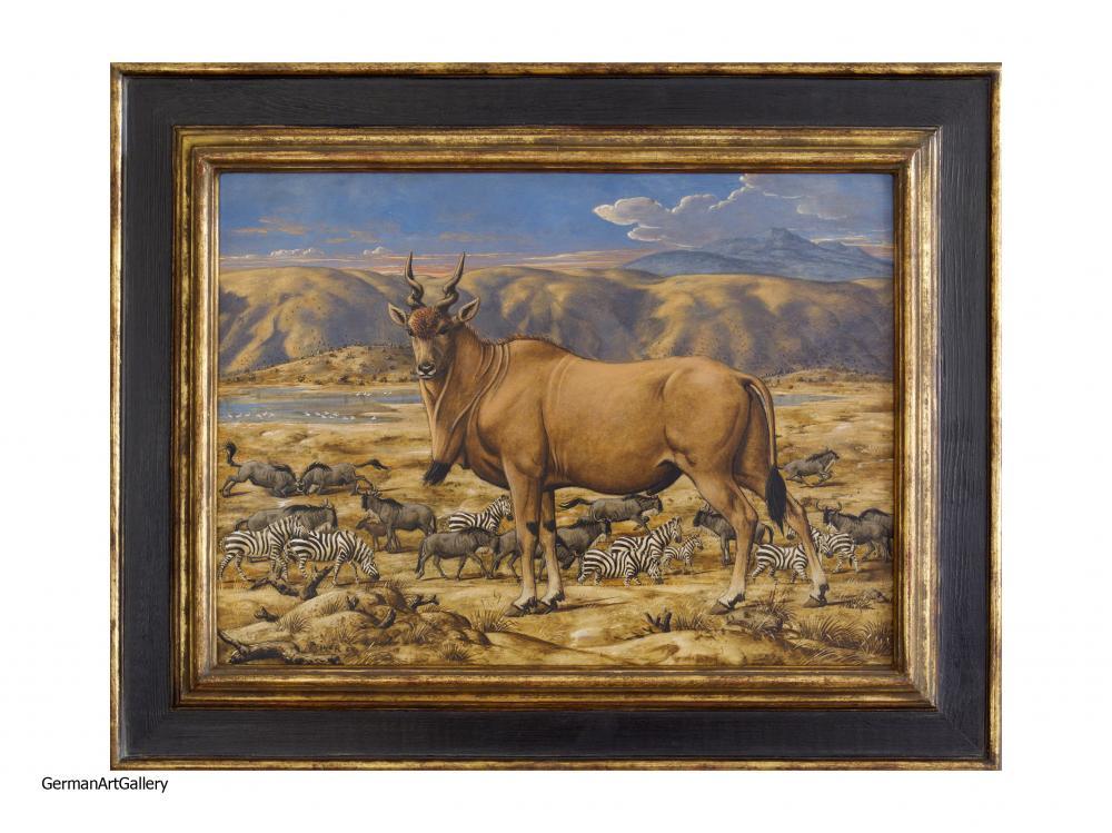 Werner Peiner, African Antelope