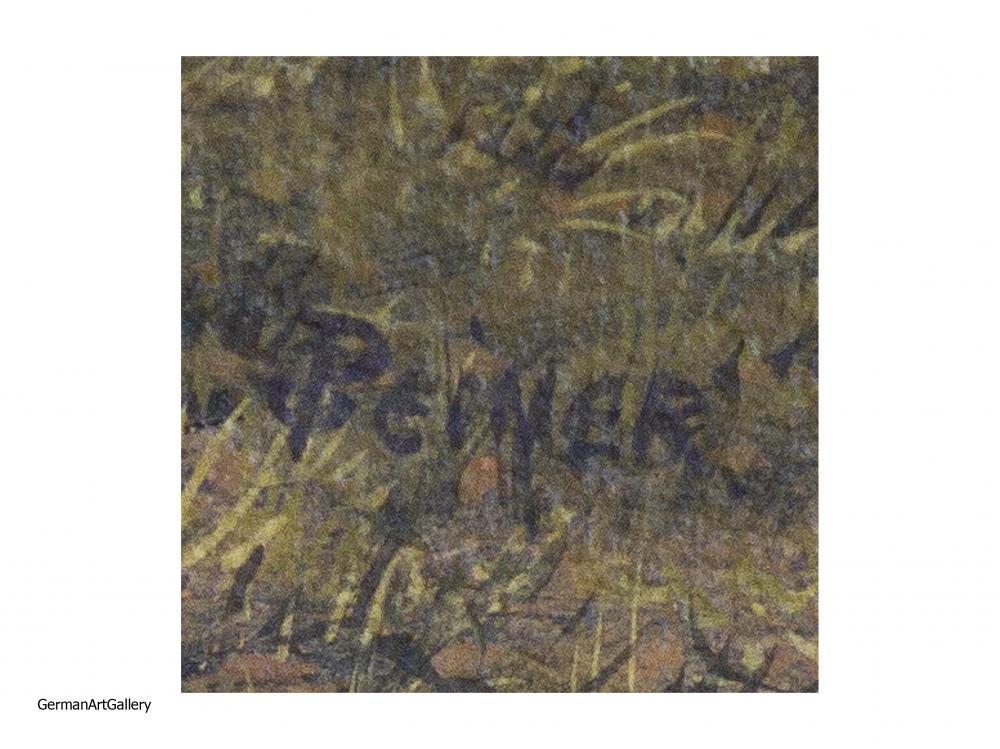 Werner Peiner, Eifel Landscape
