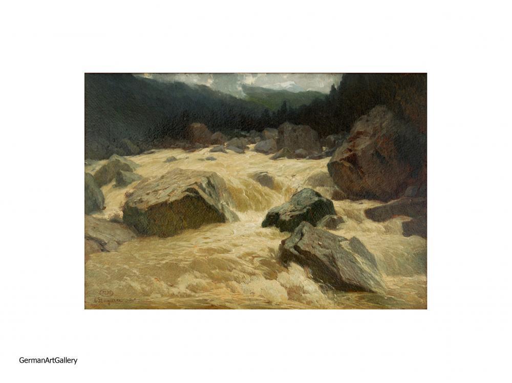 Albert Stagura, Reissender Gebirgsfluss