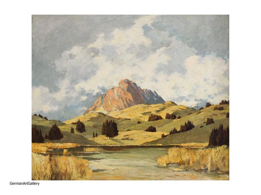 Alfons Schneider, Wetterstein mit Schmalensee
