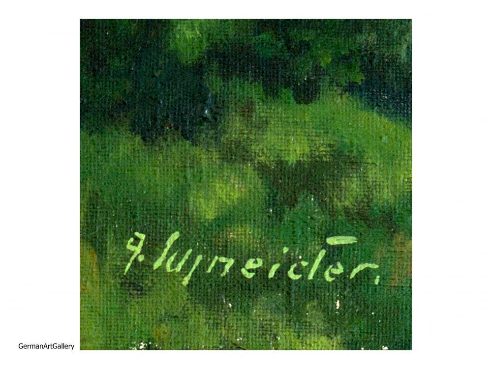Alfons Schneider, Voralpenlandschaft
