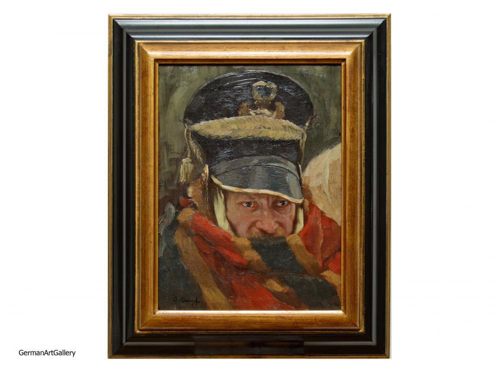 Arthur Kampf, Portrait of Soldier