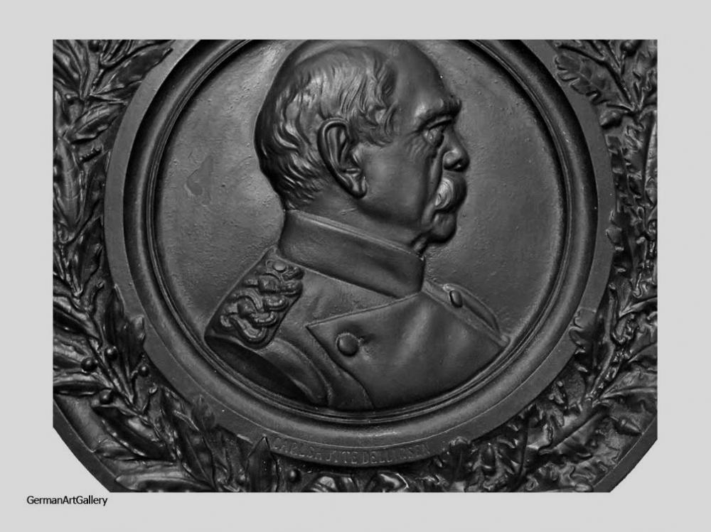 August Lehmensiek, Bismarck Shield (cast iron)