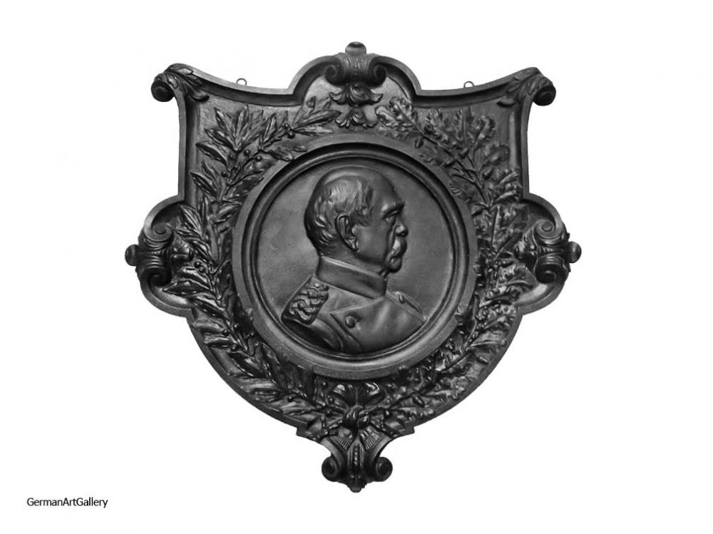 August Lehmensiek, Bismarck Shield (cast iron)