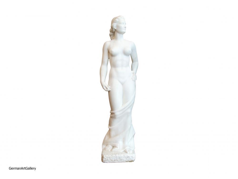 August Wilhelm Goebel, Norne (carara marble)
