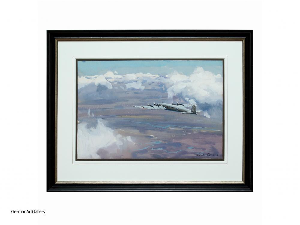 Claus Bergen, The Condor Airplane