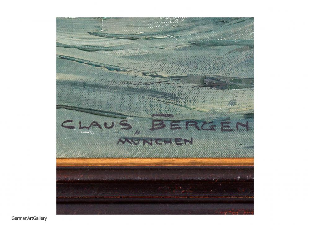 Claus Bergen, Gegen England