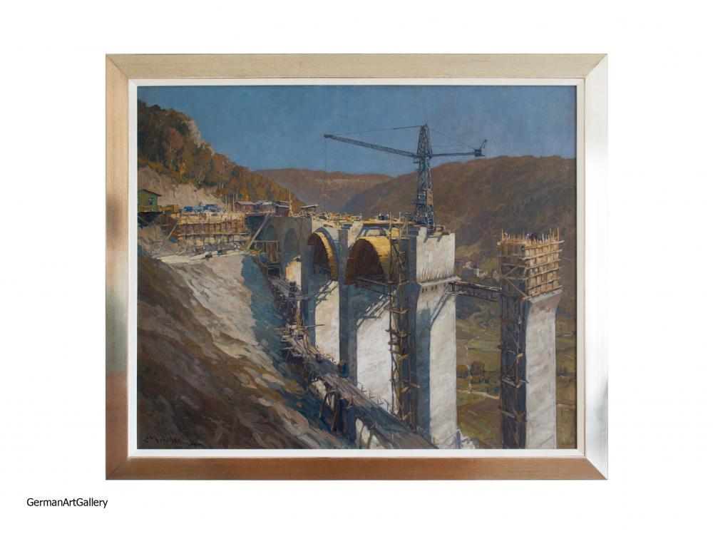 Erich Mercker, Drachenlochbrücke