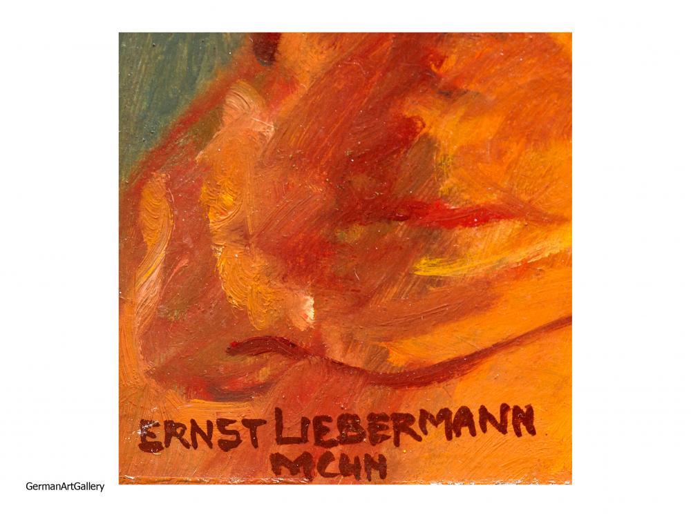Ernst Liebermann, Junges Mädchen