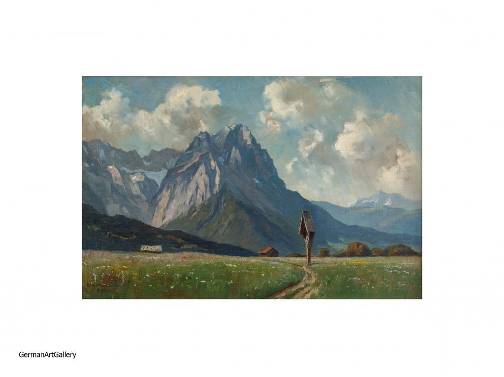 Erwin Kettemann, Sommer bei Garmisch