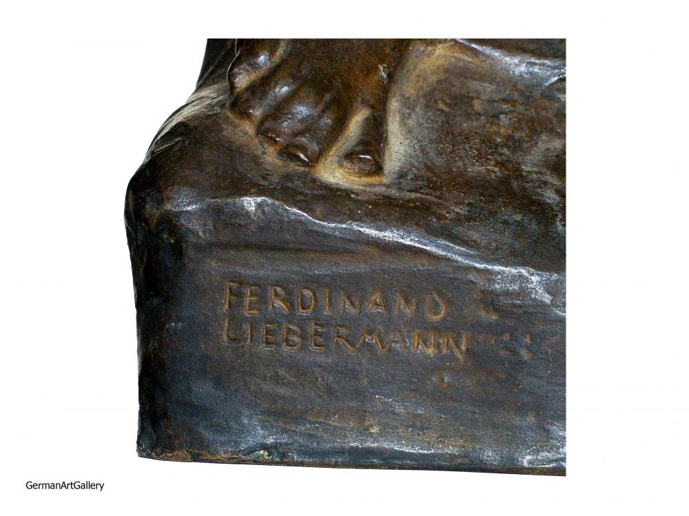 Ferdinand Liebermann, Hingebung