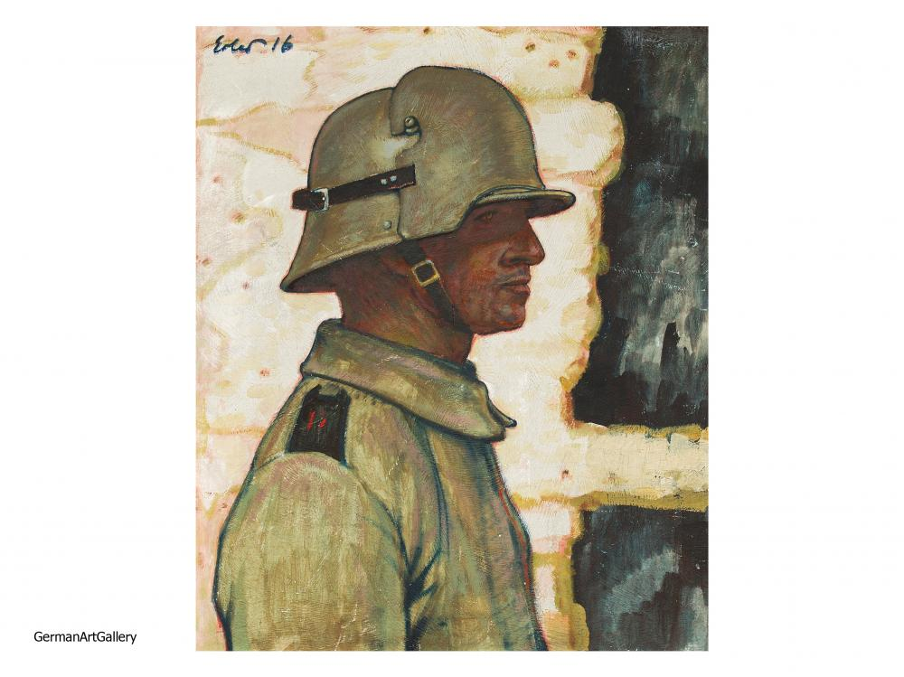 Fritz Erler, The First Stahlhelm