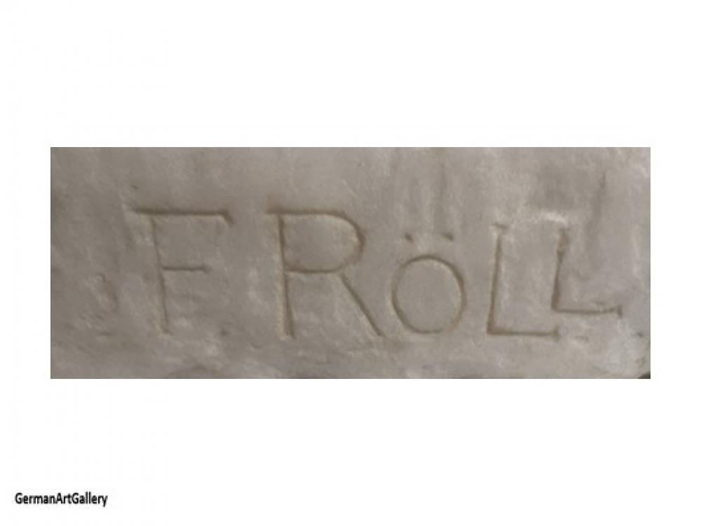 Fritz Röll, Sandal Binder, marble