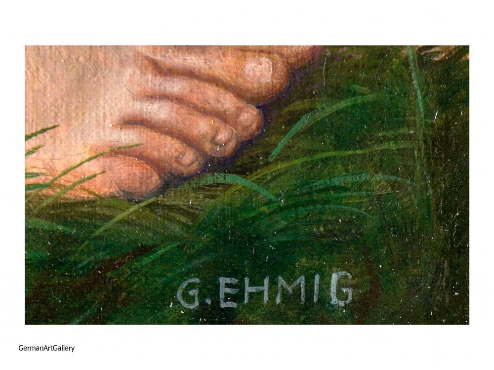 Georg Ehmig, Ernterast