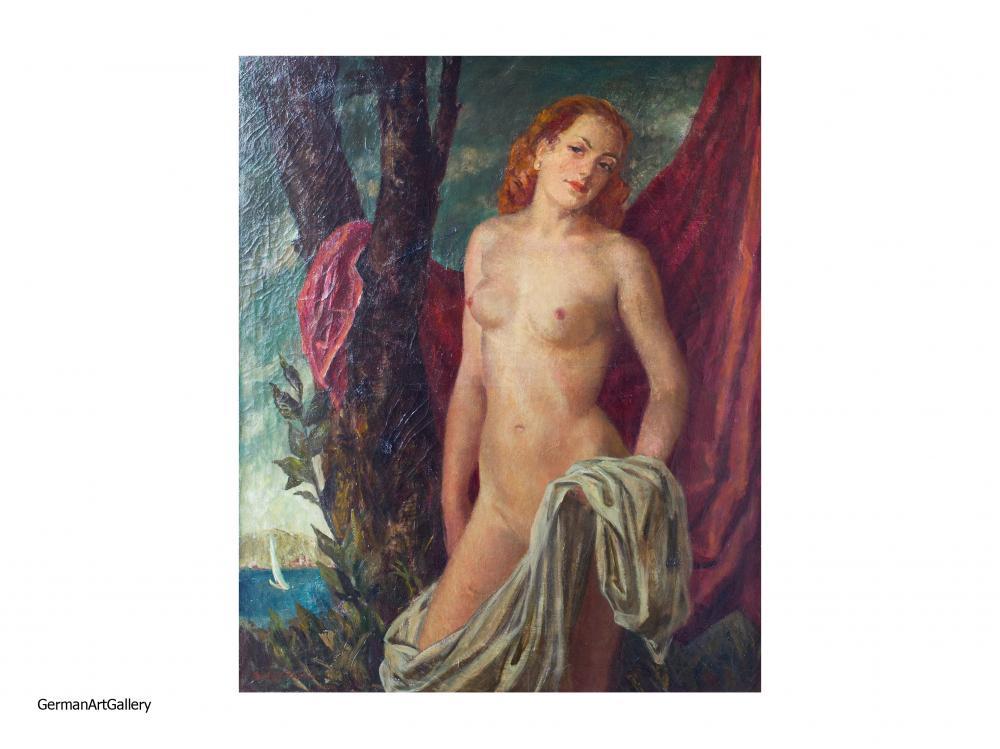 Gisbert Palmie, Stehender Frauenakt