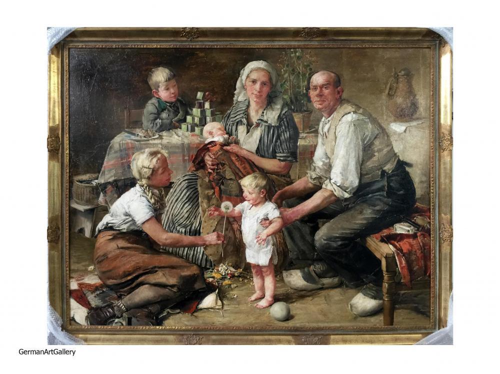 Hans Schmitz-Wiedenbrück, Familienbild