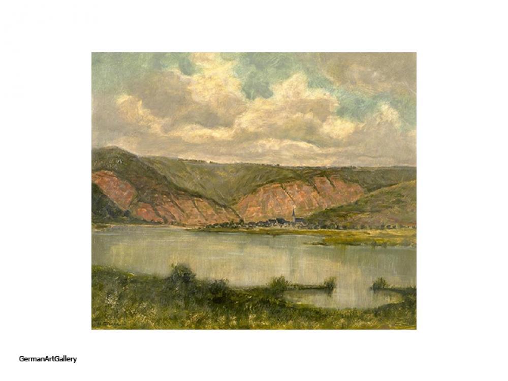 Hermann Gradl, Mosellandschaft bei Mesenich