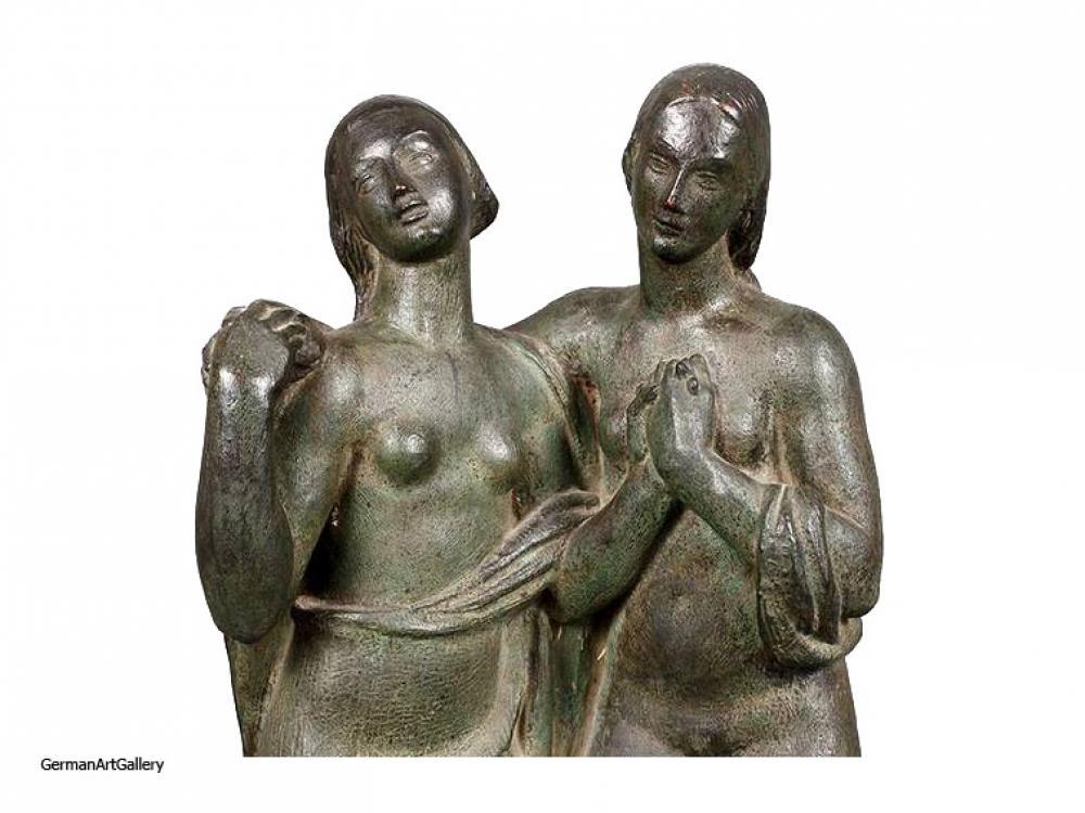 Eugen Mayer-Fassold, Zwei Frauen