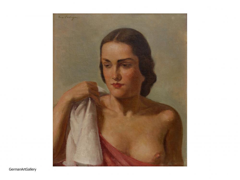 Ivo Saliger, Junge Frau