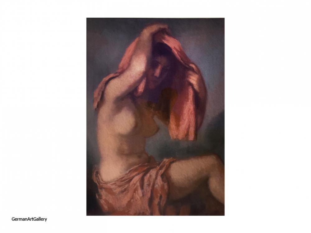 Josef Pieper, Female Nude