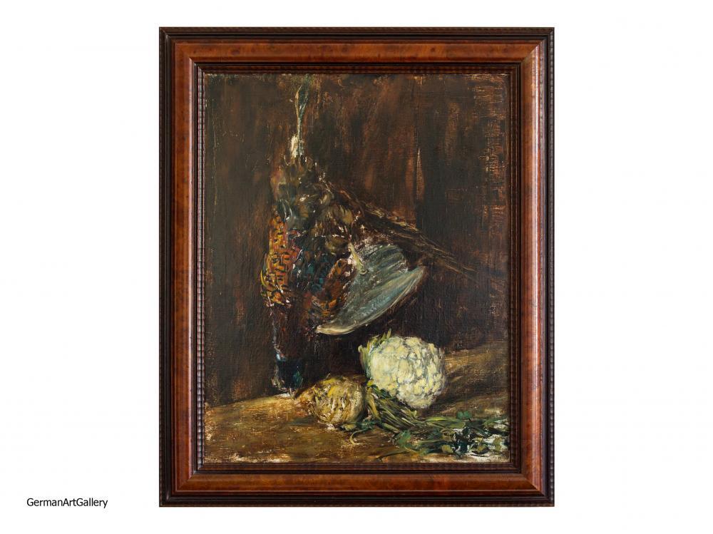 Karl Walther, Fasan und Gemüse