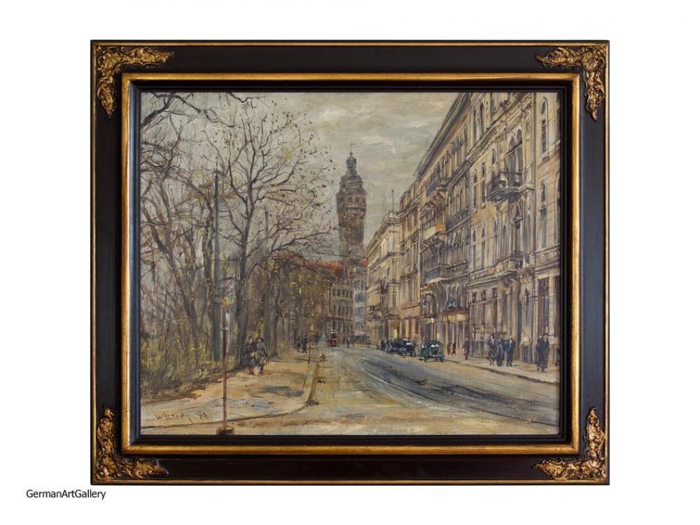Karl Walther, Herbstliche Schillerstrasse