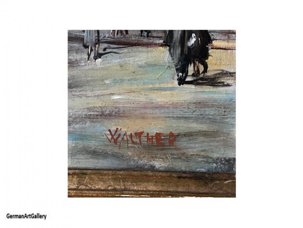 Karl Walther, Blick in die Weinstrasse beim Donisl