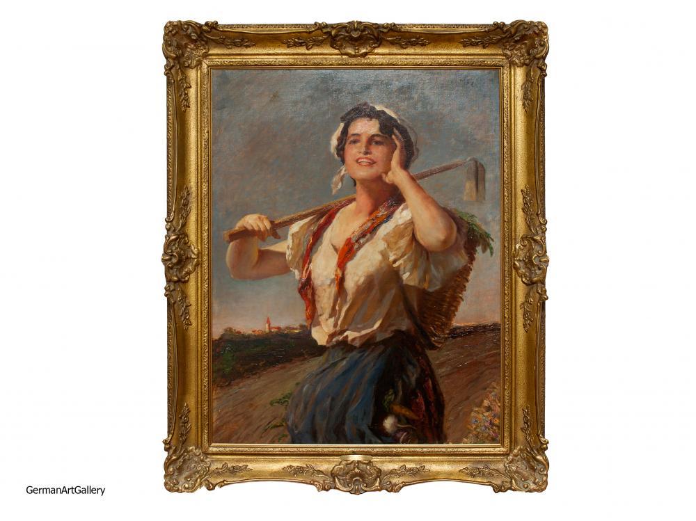 Leopold Schmutzler, Farm Girls