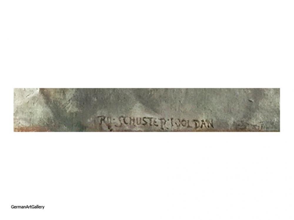 Raffael Schuster-Woldan, Die Gefangene