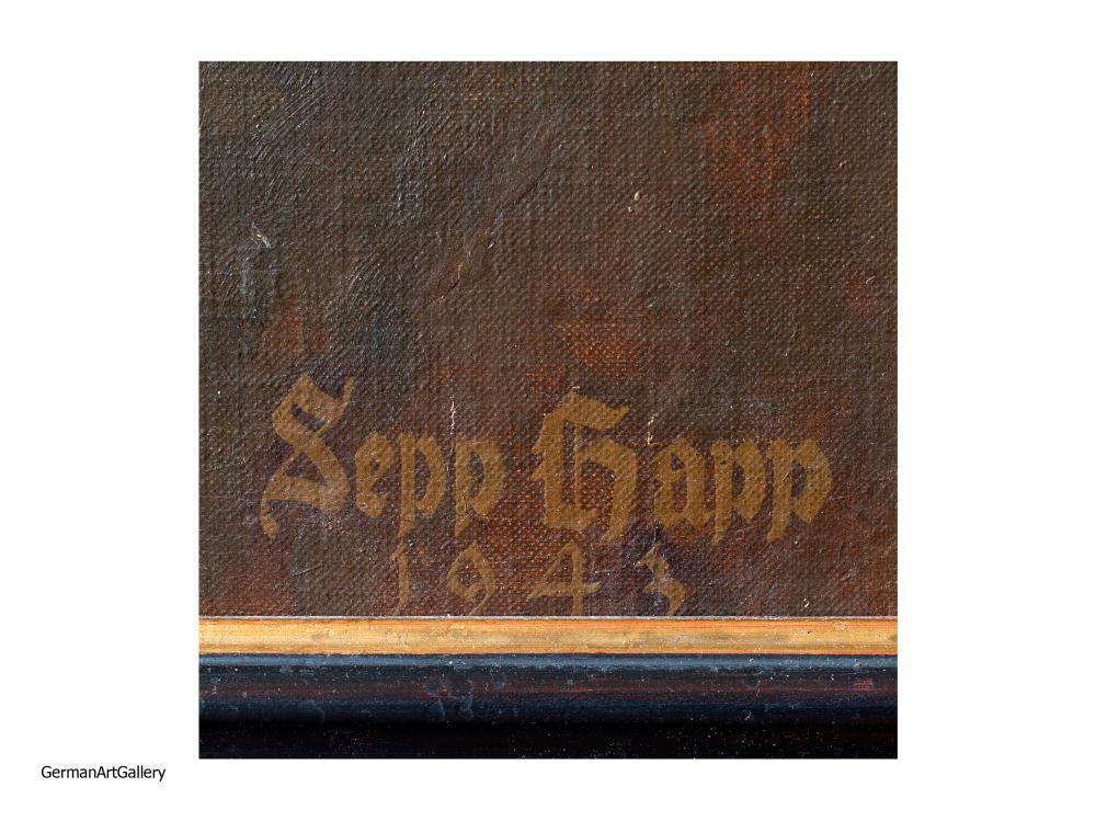 Sepp Happ, Über allem aber steht unsere Infanterie